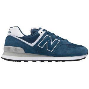 New Balance ML574ESM modrá 8.5 - Pánská volnočasová obuv