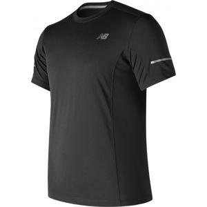 New Balance MT73916BK černá XXL - Pánské sportovní triko