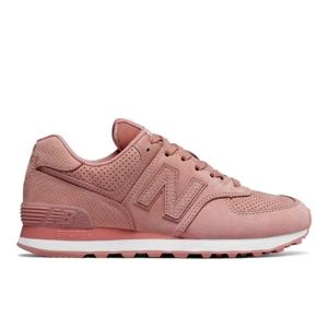 New Balance WL574URT růžová 5.5 - Dámská módní obuv