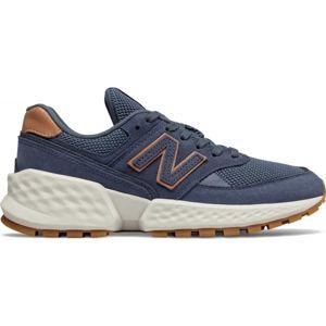 New Balance WS574ADB modrá 3.5 - Dámská volnočasová obuv