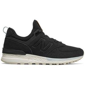 New Balance WS574PMD černá 5.5 - Dámská volnočasová obuv
