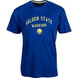 New Era NBA GOLDEN WARRIOR modrá L - Pánské triko