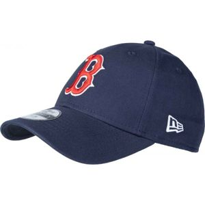 New Era 9FORTY MLB CHAMBRAY LEAGUE KIDS BOSTON RED SOX tmavě modrá YOUTH - Dětská klubová kšiltovka