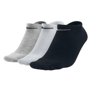 Nike 3PPK VALUE NO SHOW bílá L - Ponožky