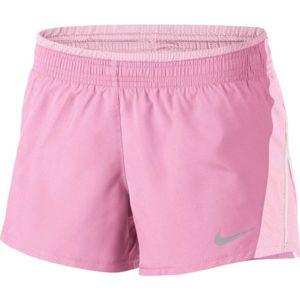 Nike 10K SHORT W růžová L - Dámské běžecké šortky