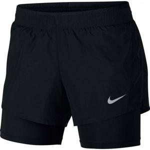 Nike 10K 2IN1 SHORT černá L - Dámské běžecké kraťasy