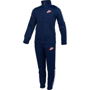 Nike NSW TRK SUIT TRICOT G tmavě modrá S - Dívčí souprava