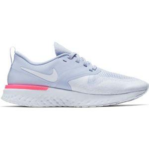 Nike ODYSSEY REACT 2 FLYKNIT W šedá 6.5 - Dámská běžecká obuv