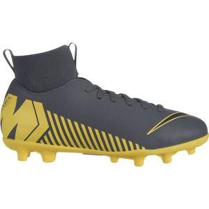Nike JR MERCURIAL SUPERFLY 6 CLUB MG žlutá 4 - Dětské kopačky