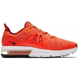 Nike AIR MAX SEQUENT 3 GS červená 5Y - Chlapecká vycházková obuv