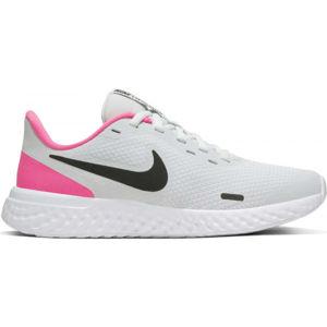 Nike REVOLUTION 5 (GS) černá 7Y - Dětská běžecká obuv