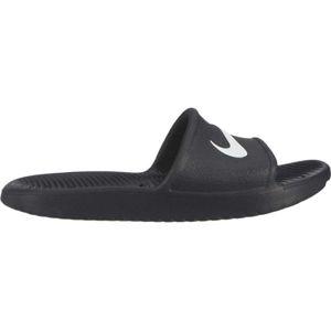Nike KAWA SHOWER GS černá 4Y - Dětské pantofle