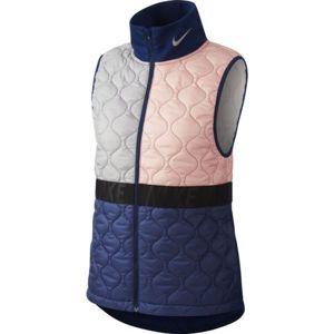 Nike AROLYR VEST W růžová XL - Dámská běžecká vesta