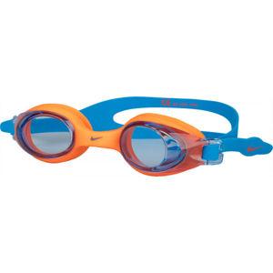 Nike CATLA YOUTH modrá NS - Dětské plavecké brýle