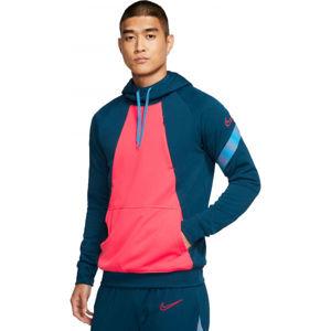 Nike DRY ACDPR HOODIE FP M modrá M - Pánská fotbalová mikina