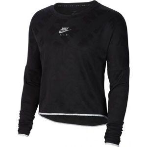 Nike AIR MIDLAYER CREW W černá L - Dámské běžecké triko
