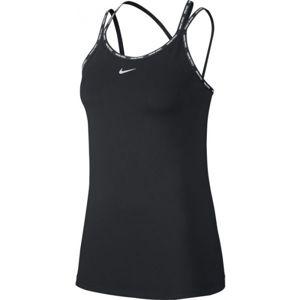 Nike NP CLN ELASTIKA TANK SP W černá L - Dámské tílko