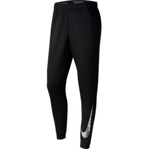 Nike DRY PANT TAPER FLC GFX M černá M - Pánské tréninkové kalhoty