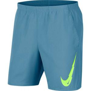 Nike RUNNING SHORTS modrá S - Pánské běžecké šortky
