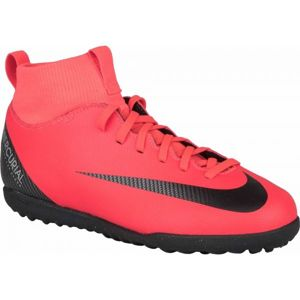 Nike CR7 JR MERCURIALX SUPERFLY 6 CLUB TX červená 3.5Y - Dětské turfy