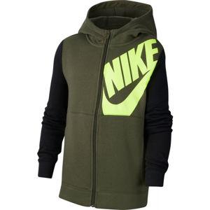 Nike NSW HOODIE FZ KIDS PACK B  M - Chlapecká mikina