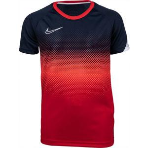 Nike DRY ACD TOP SS GX FP modrá L - Chlapecké fotbalové tričko