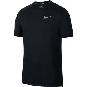 Nike DRY COOL MILER TOP SS černá S - Pánské tričko