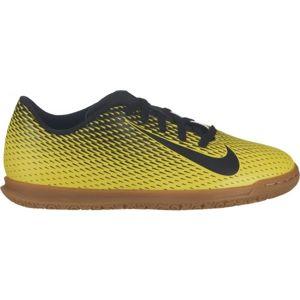 Nike JR BRAVATA IC žlutá 4 - Dětská sálová obuv