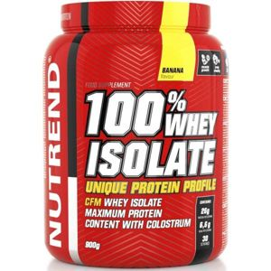 Nutrend 100% WHEY ISOLATE 900G BANÁN  NS - Protein