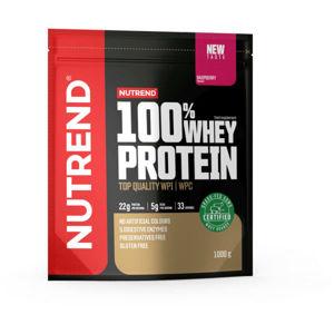Nutrend 100% WHEY PROTEIN 1000 g MALINA   - Protein