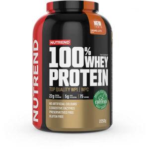 Nutrend 100% WHEY PROTEIN 2250 g KARAMELOVÉ LATTÉ   - Protein