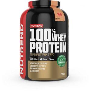 Nutrend 100% WHEY PROTEIN 2250 g LEDOVÁ KÁVA   - Protein