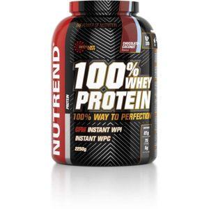 Nutrend 100% WHEY PROTEIN 2250G ČOKOLÁDA + KOKOS  NS - Protein