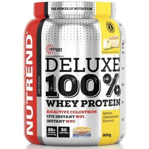 Nutrend DELUXE 100% WHEY 900G CITRONOVÝ CHEESECAKE  NS - Protein