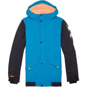O'Neill PB DECODE-BOMBER JACKET modrá 164 - Chlapecká lyžařská/snowboardová bunda