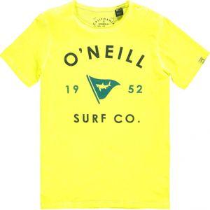 O'Neill LB SHARK ATTACK T-SHIRT žlutá 128 - Chlapecké tričko