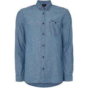 O'Neill LM CHAMBRAY L/SLV SHIRT modrá S - Pánská košile