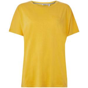 O'Neill LW ESSENTIALS DRAPEY T-SHIRT žlutá S - Dámské tričko