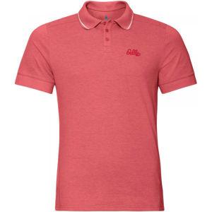 Odlo MEN'S T-SHIRT POLO S/S NIKKO oranžová M - Pánské tričko