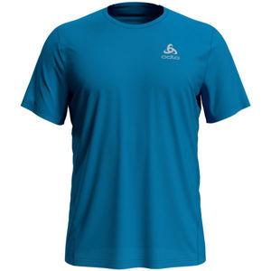 Odlo T-SHIRT S/S CREW NECK ELEMENT LIGHT modrá M - Pánské tričko