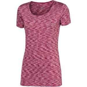 Progress SS MELANGE LADY T-SHIRT růžová L - Dámské sportovní triko