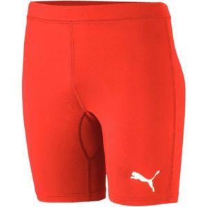 Puma LIGA BASELAYER SHORT TIGHT červená XL - Pánské spodní trenky