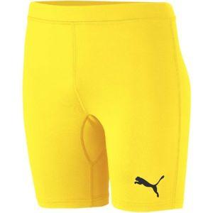Puma LIGA BASELAYER SHORT TIGHT žlutá XL - Pánské spodní trenky