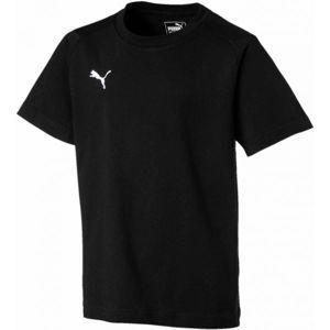 Puma LIGA CASUALS TEE JR černá 128 - Chlapecké triko