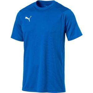 Puma LIGA TRAINING JERSEY modrá L - Pánské tričko