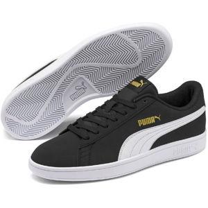 Puma SMASH V2 BUCK černá 8.5 - Pánské vycházkové boty