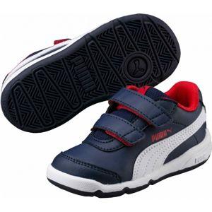 Puma STEPFLEEX 2 SL V INF modrá 6 - Dětská vycházková obuv