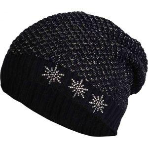 R-JET UNI ŠMOULA - PRODLOUŽENÁ ČEPICE černá UNI - Dámská prodloužená čepice
