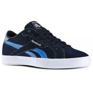 Reebok ROYAL COMPLETE LCN tmavě modrá 10 - Pánská volnočasová obuv