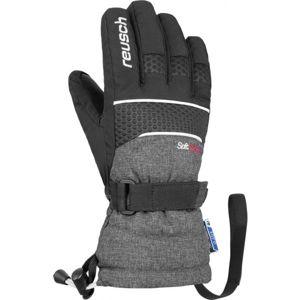 Reusch CONNOR R-TEX XT JUNIOR šedá 4 - Lyžařské rukavice